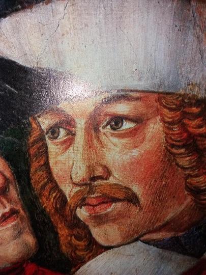 Vlad Tepes, fresca Palatului Medici Florenta