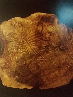 Scrierea neolitica dunareana. Simbol Pasarea Sufletului
