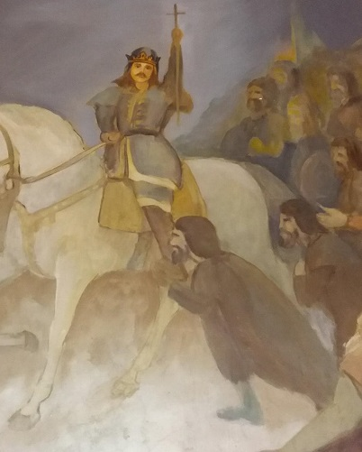 Stefan victorios la Podul Inalt